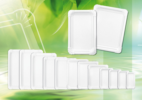 Paper plates rectangular made from virgin fibers & HOSTI International » Paper plates rectangular made from virgin fibers
