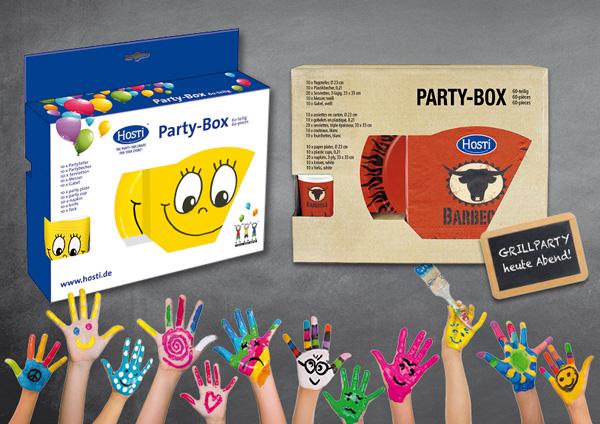 HOSTI-Partyboxen